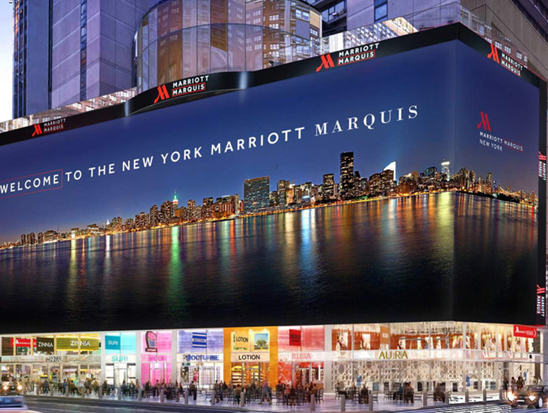 MARRIOTT MARQUIS TIMES SQUARE