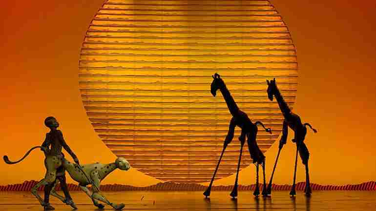 New York City Theater present Disney's the Lion King