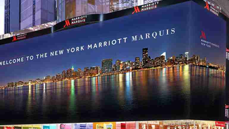 Visit the MARRIOTT MARQUIS TIMES SQUARE New York City